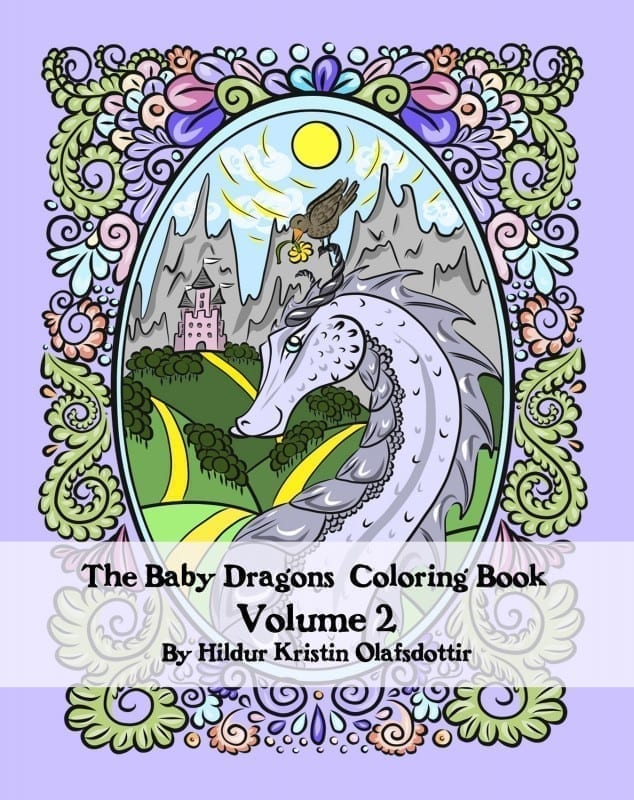 The Baby Dragons Coloring Book Volume 2 Paperback –