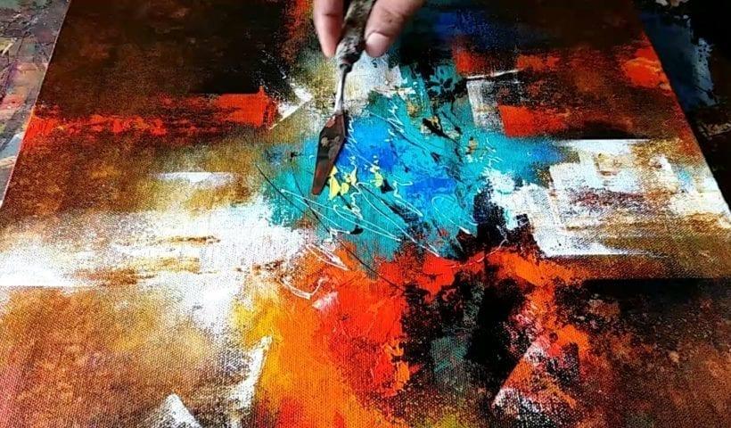 Acrylic Tutorial Beginners Hildur K O Art Blog Shop