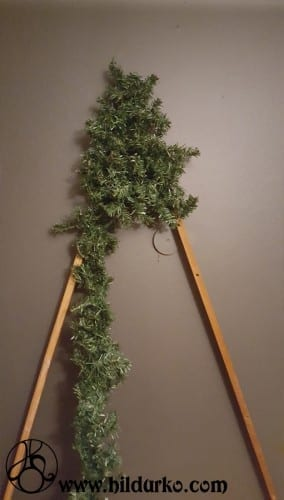 Diy Flat Christmas Tree Hildur K O Art Blog Amp Shop