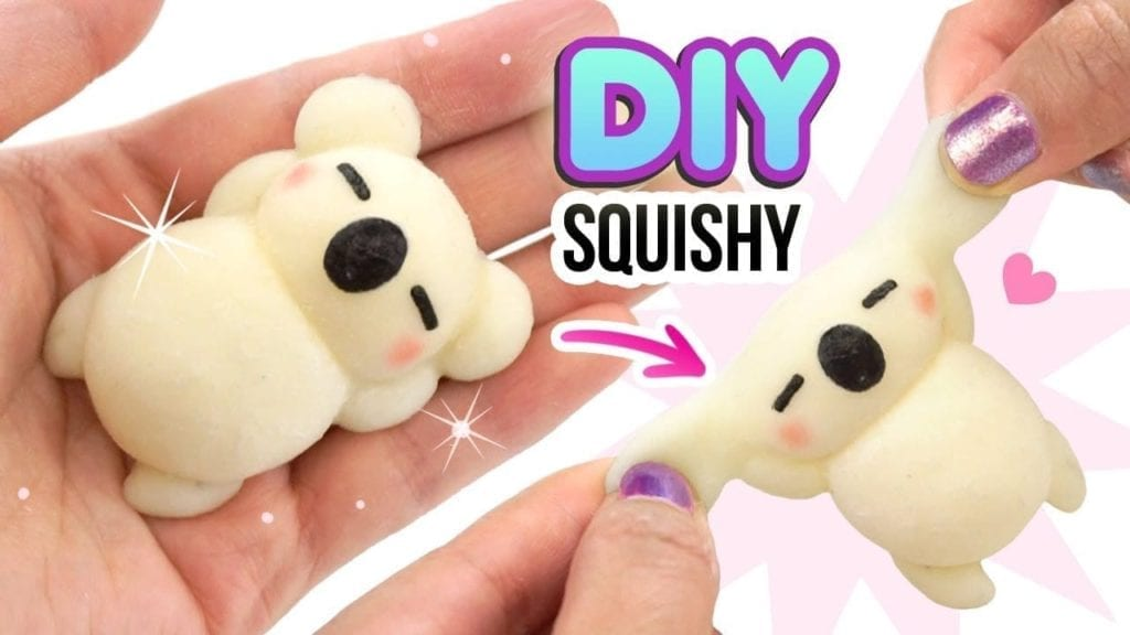 diy squishy koala   hitohada gel tutorial