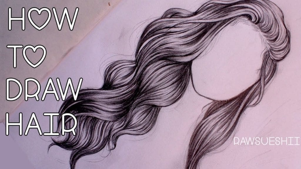 How To Draw Hair Step By Step By Christina Lorre