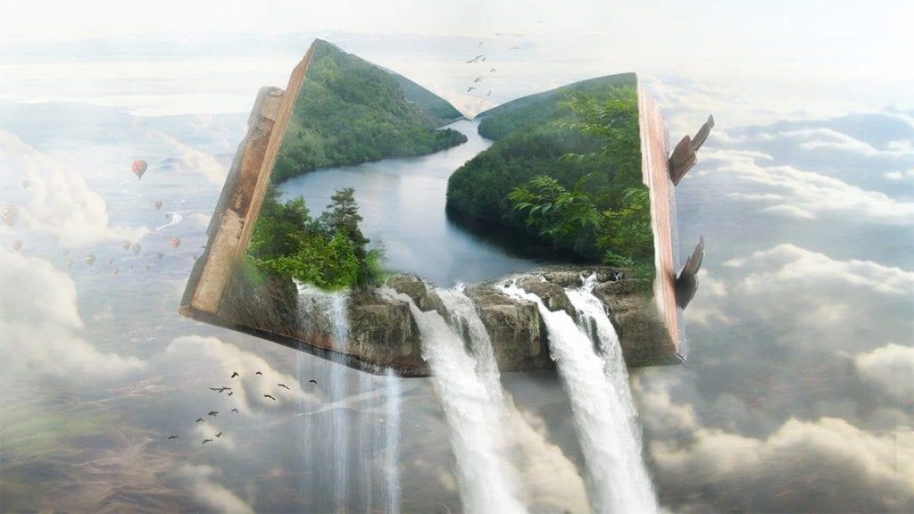 Photoshop Tutorial Manipulation Book Landscapes By Sait