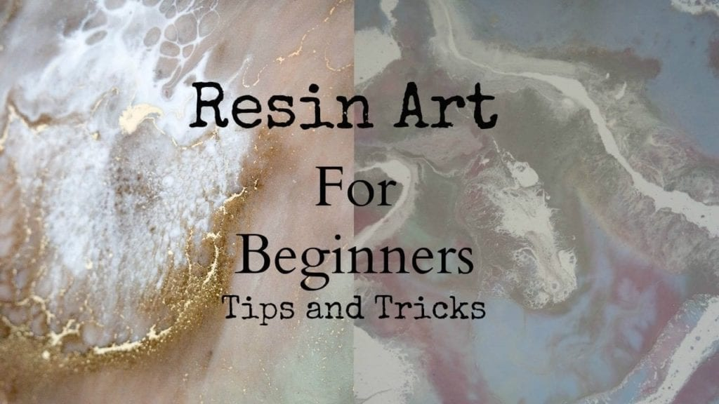 Top tips and tricks to create resin art for beginners with sheri vegas hildur k o