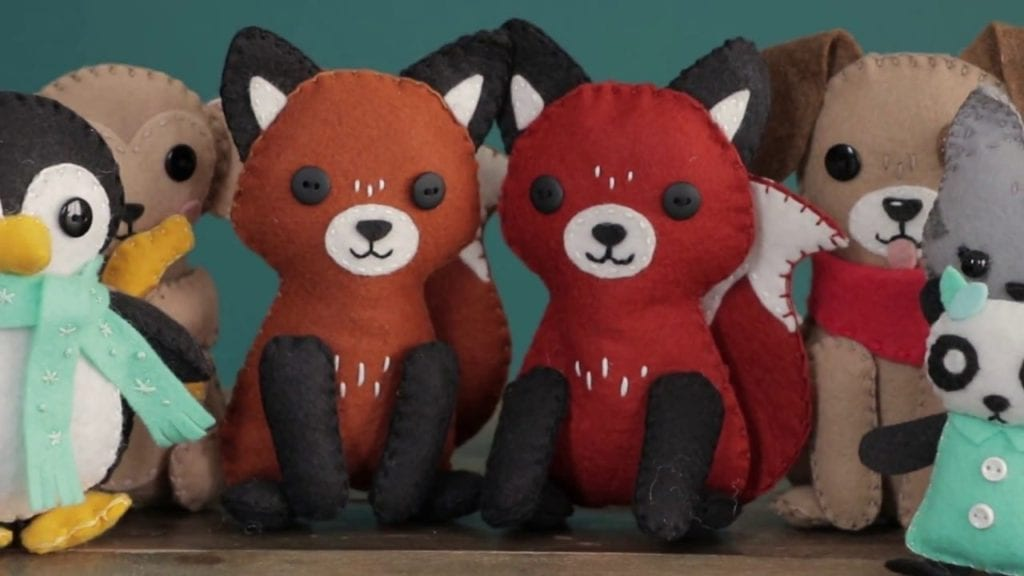 50ac68993c70e How To Make A Felt Fox Stuffie with Lia Griffith – Hildur.K.O art ...