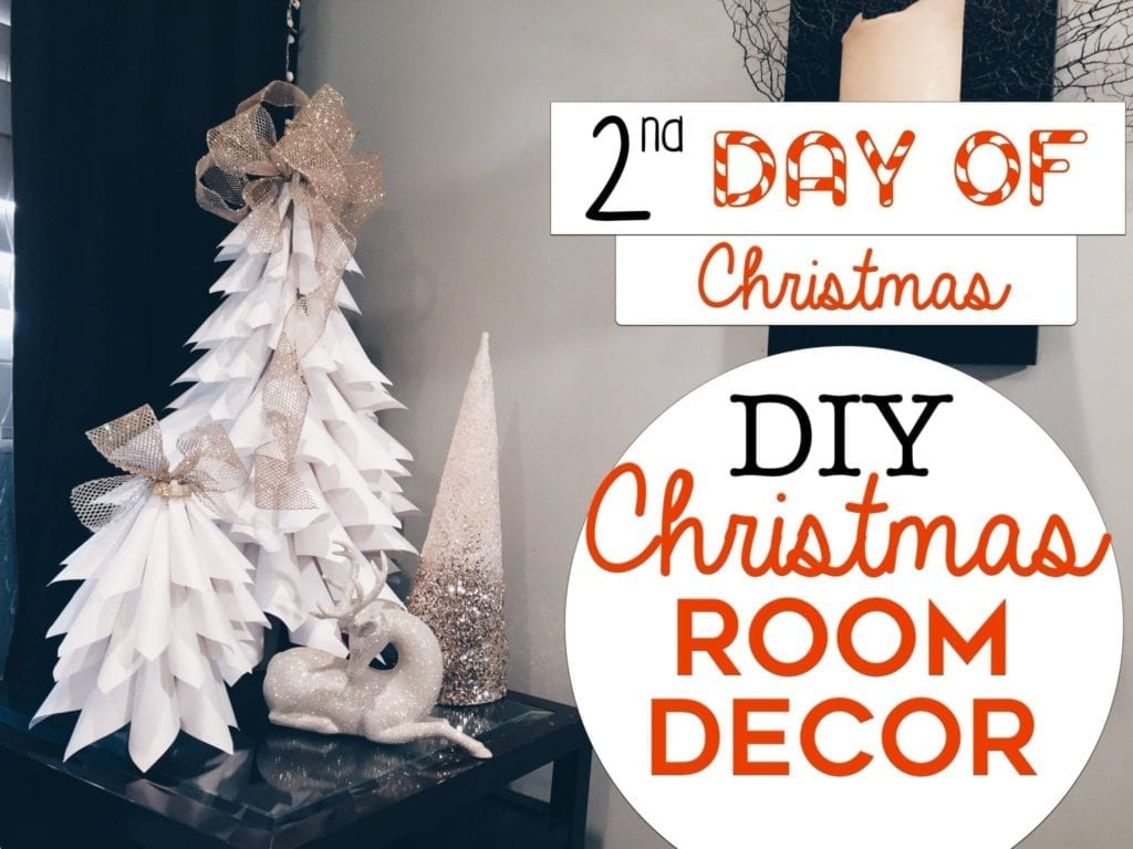 3 easy christmas room decor diys by live your style hildurko - Diy Christmas Bedroom Decor