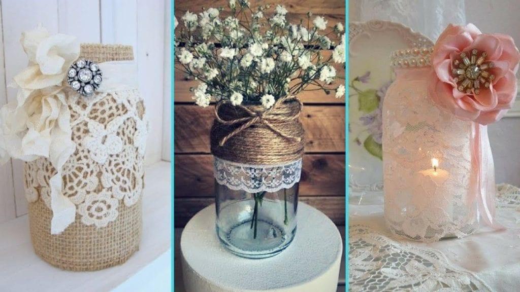 Diy Shabby Chic Decor diy rustic shabby chic style mason jar decor ideas – hildur