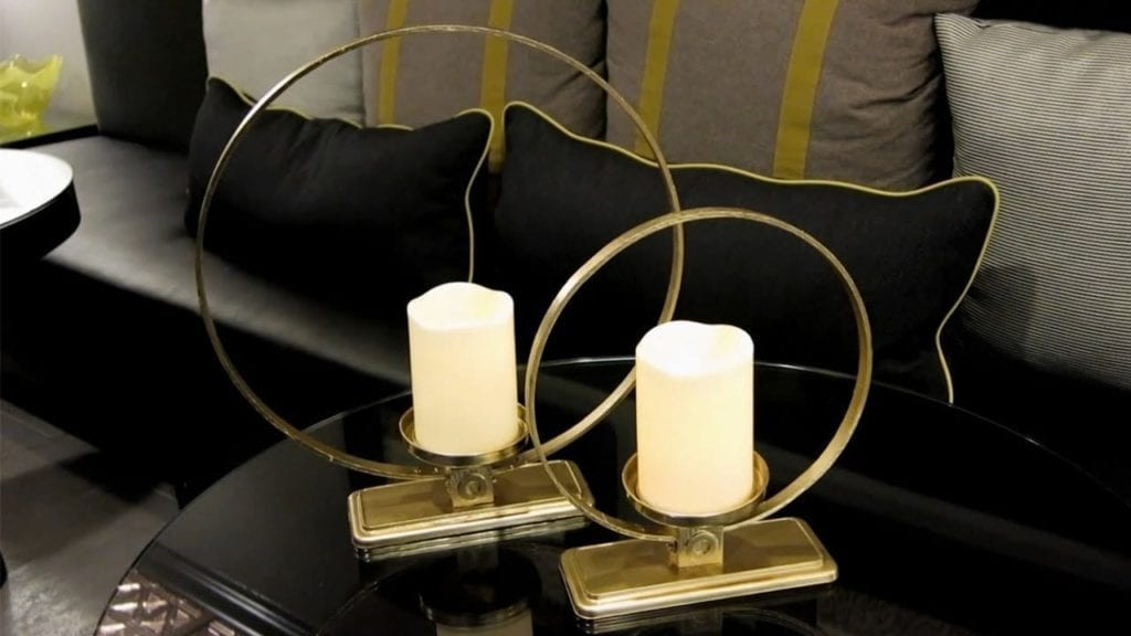 Diy Cirque Pillar Candle Holders Z Gallerie Inspired Luxe Look For Less Hildur K O