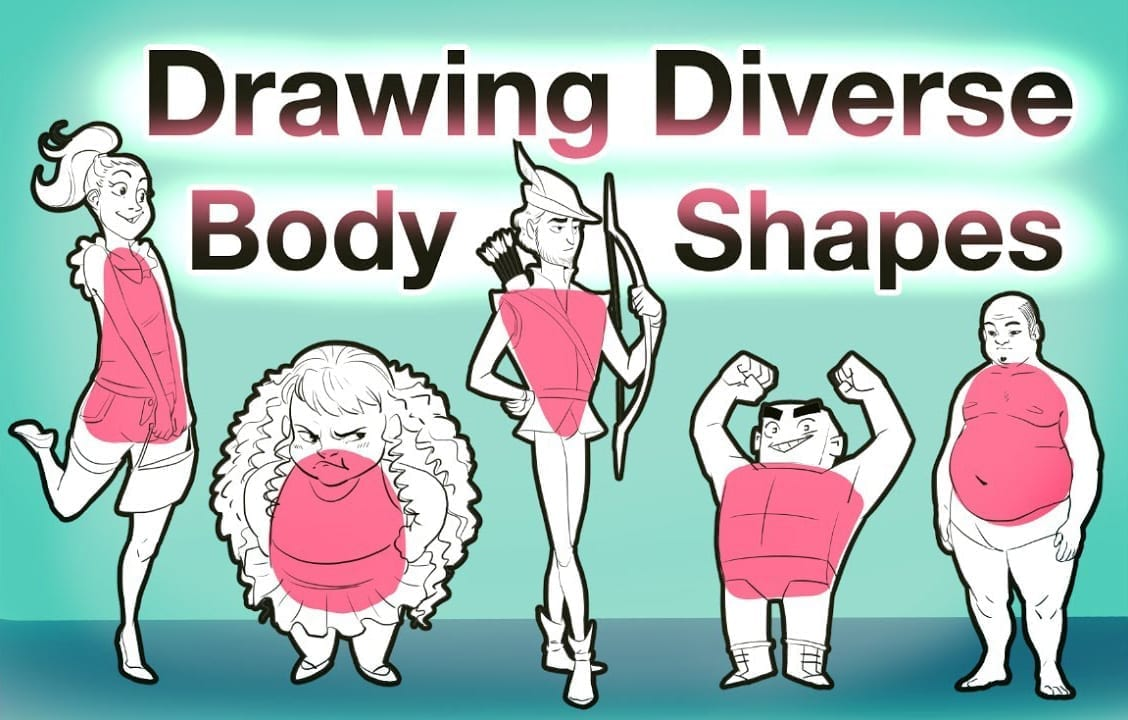 Different Body Types Drawing Debby Arts