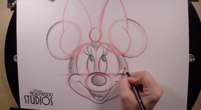 d8fc32da0 How To Draw Minnie Mouse with Disney's Hollywood Studios – Hildur ...