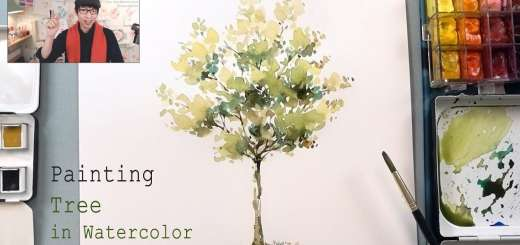 How To Paint A Tree In Watercolor Easy Step By Tutorial