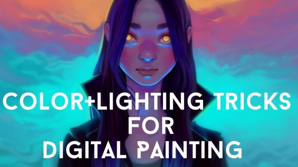 COLOR+LIGHTING TRICKS FOR DIGITAL PAINTING | | Hildur K O art blog