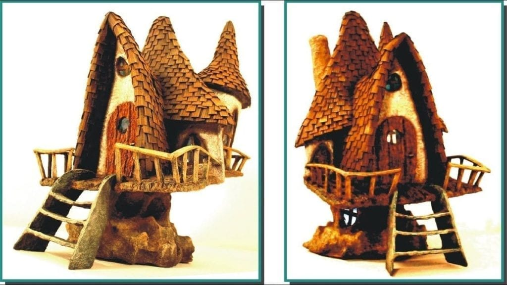 Excellent Diy Fairy House Lamp Recycling Trash By Creative Mom Ocoug Best Dining Table And Chair Ideas Images Ocougorg