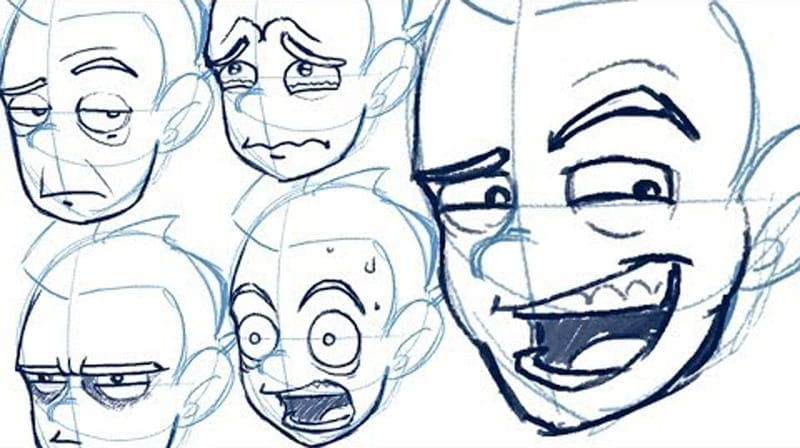 How To Draw Dynamic Expressions With Jazza Hildur K O Art Blog