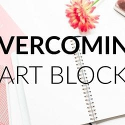 Overcoming Artist's Block , Productivity and Inspiration Tips and Prompts · SemiSkimmedMin