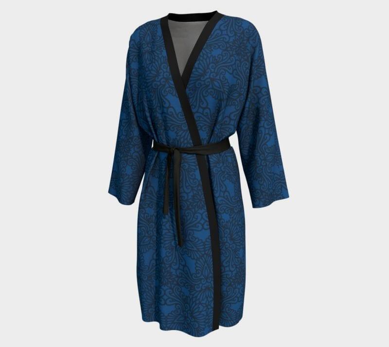 Dark Blue Delilah, Peignoir Robe