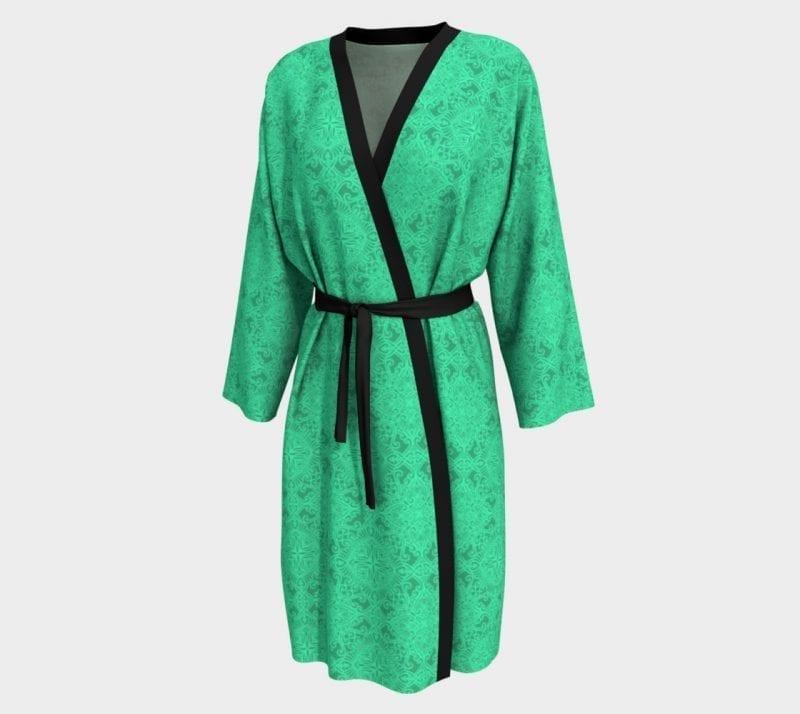Green Tabitha, Peignoir Robe