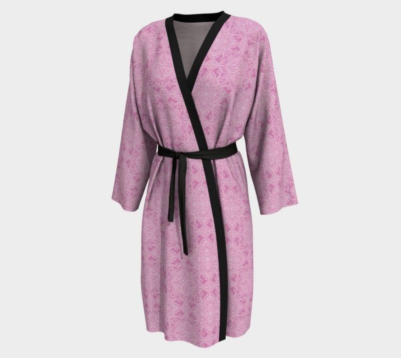 Pink Tabitha, Peignoir Robe