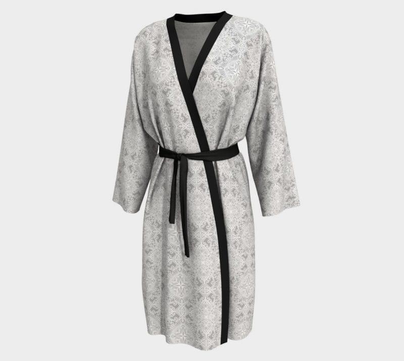 Gray Tabitha, Peignoir Robe