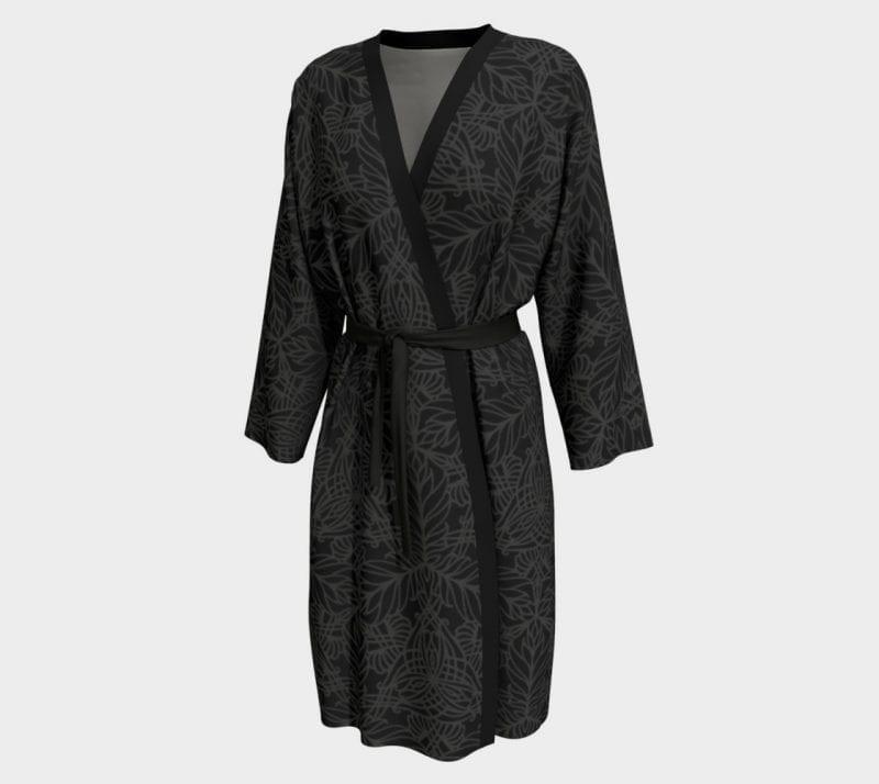 Black Deja, Peignoir Robe