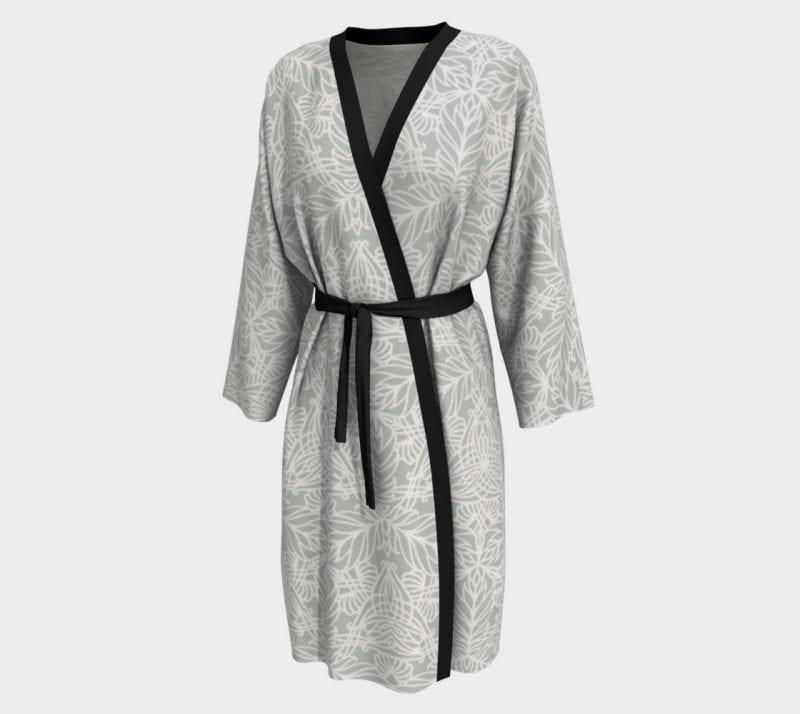 Gray Deja, Peignoir Robe
