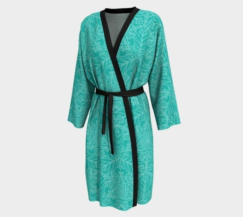 Green Deja, Peignoir Robe