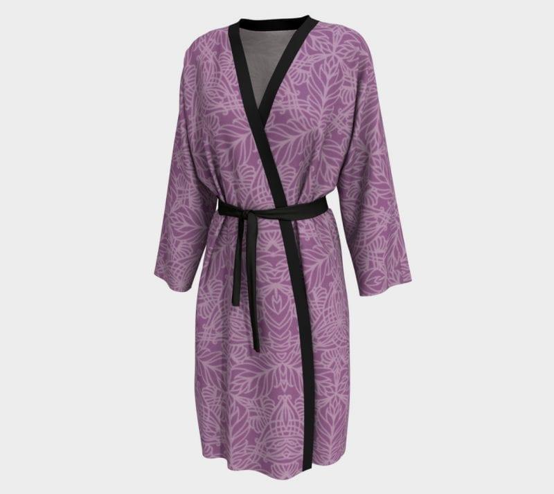Purple Deja, Peignoir Robe