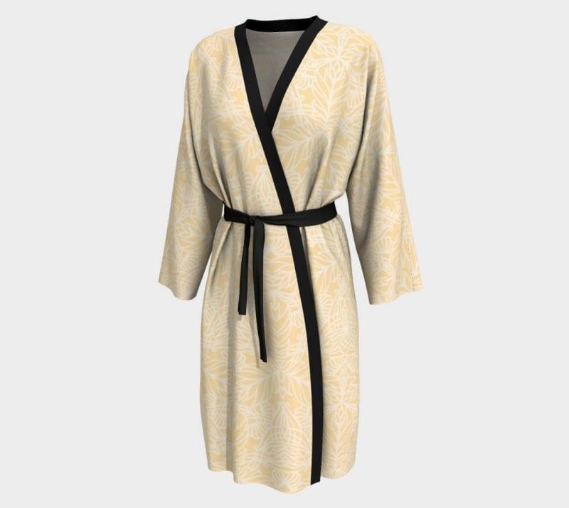 Yellow Deja, Peignoir Robe