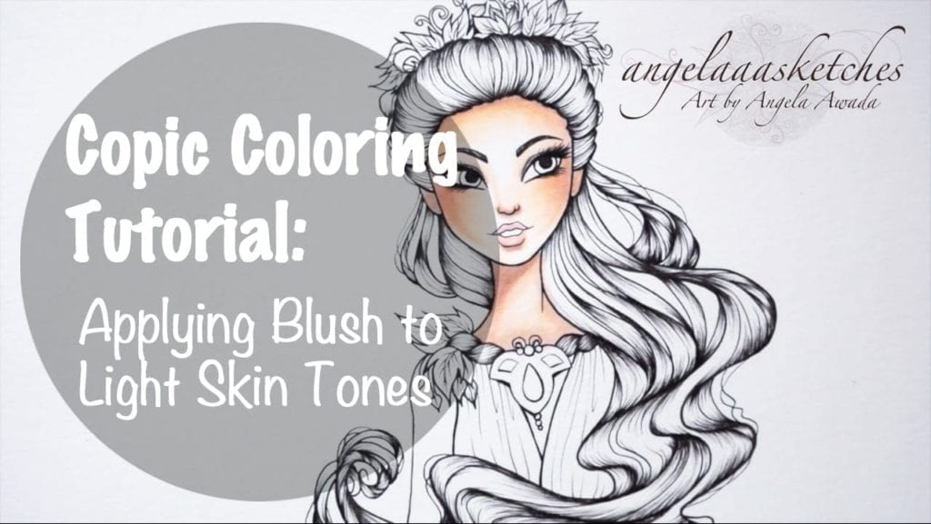 Copic Marker Coloring Tutorial – Applying Blush to Light ...