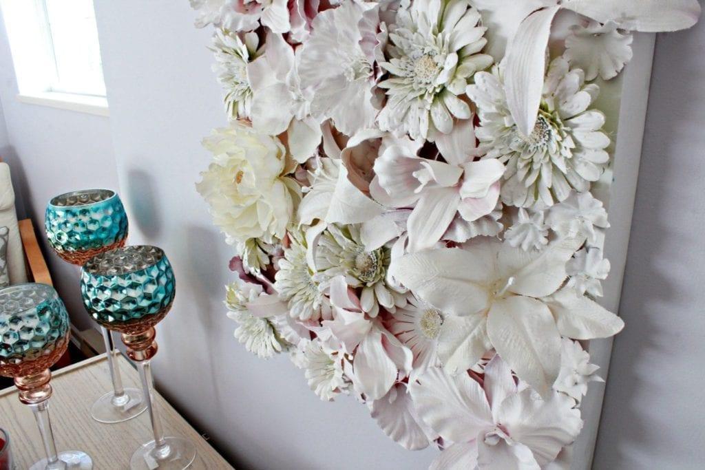 Diy Wall Flowers: DIY, 3D Flower Canvas Wall Art, DIY Mother's Day Gift