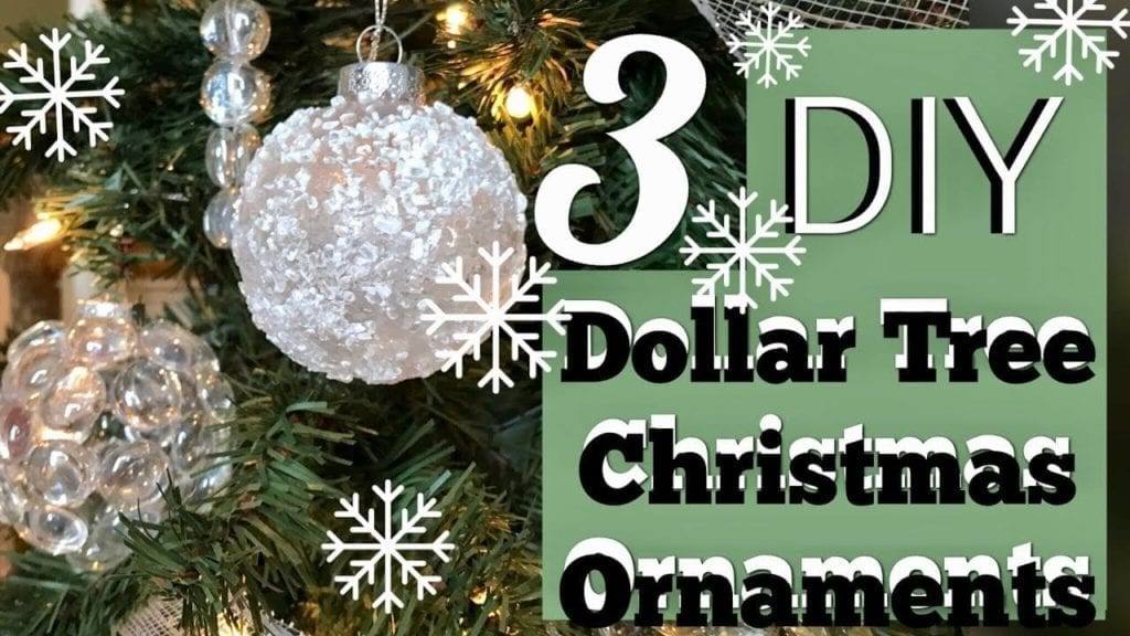 Dollar Tree Christmas Diy Archives Hildur K O Art Blog Shop
