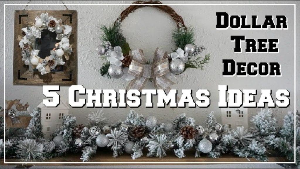 5 Dollar Tree Diy Christmas Decor Ideas