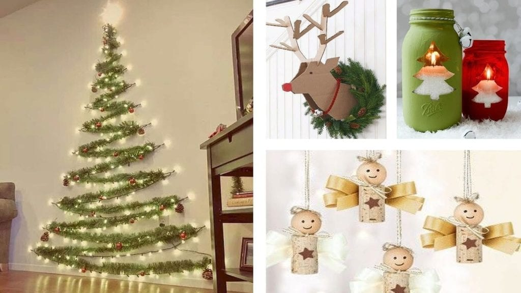 Easy Diy String Christmas Tree Hildur K O Art Blog Shop