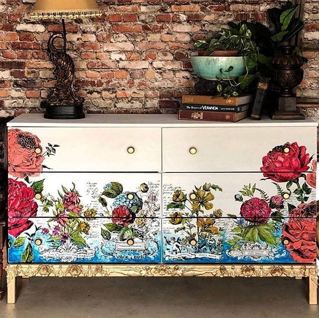 Ikea Tarva Maximalist Makeover Hildurko Art Blog Shop