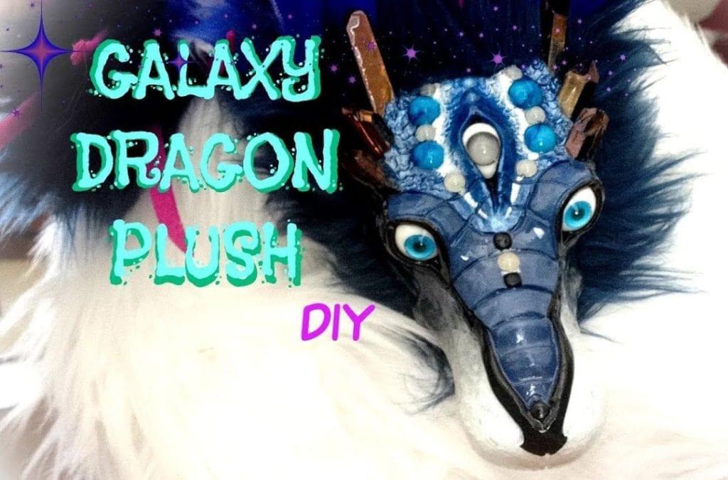 Galaxy Dragon Plush BubblyLeaf