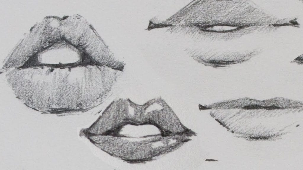 How To Draw Large Lips